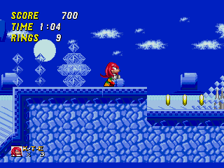 Screenshot Thumbnail / Media File 1 for Sonic & Knuckles + Sonic the Hedgehog 2 (World) [Hack by Hachelle-Bee v1.8] (Long Version)
